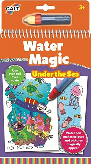 galt toys water magic under the sea colouring book for children - Colouring Books For Children