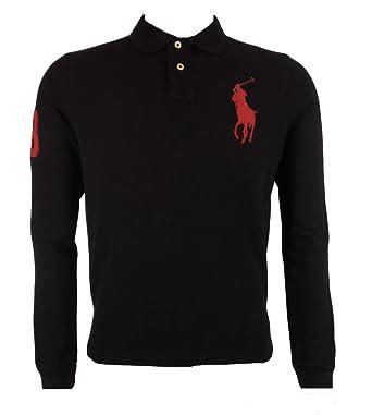 Ralph Lauren Polo para hombre, color negro y Logo cm. tamaño ...