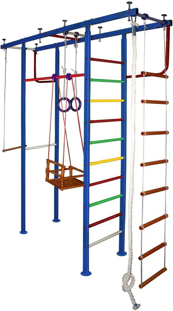 vertical-4 niños de gimnasio en casa pared Niños Escuela sueca, con accesorios: Amazon.es: Deportes y aire libre