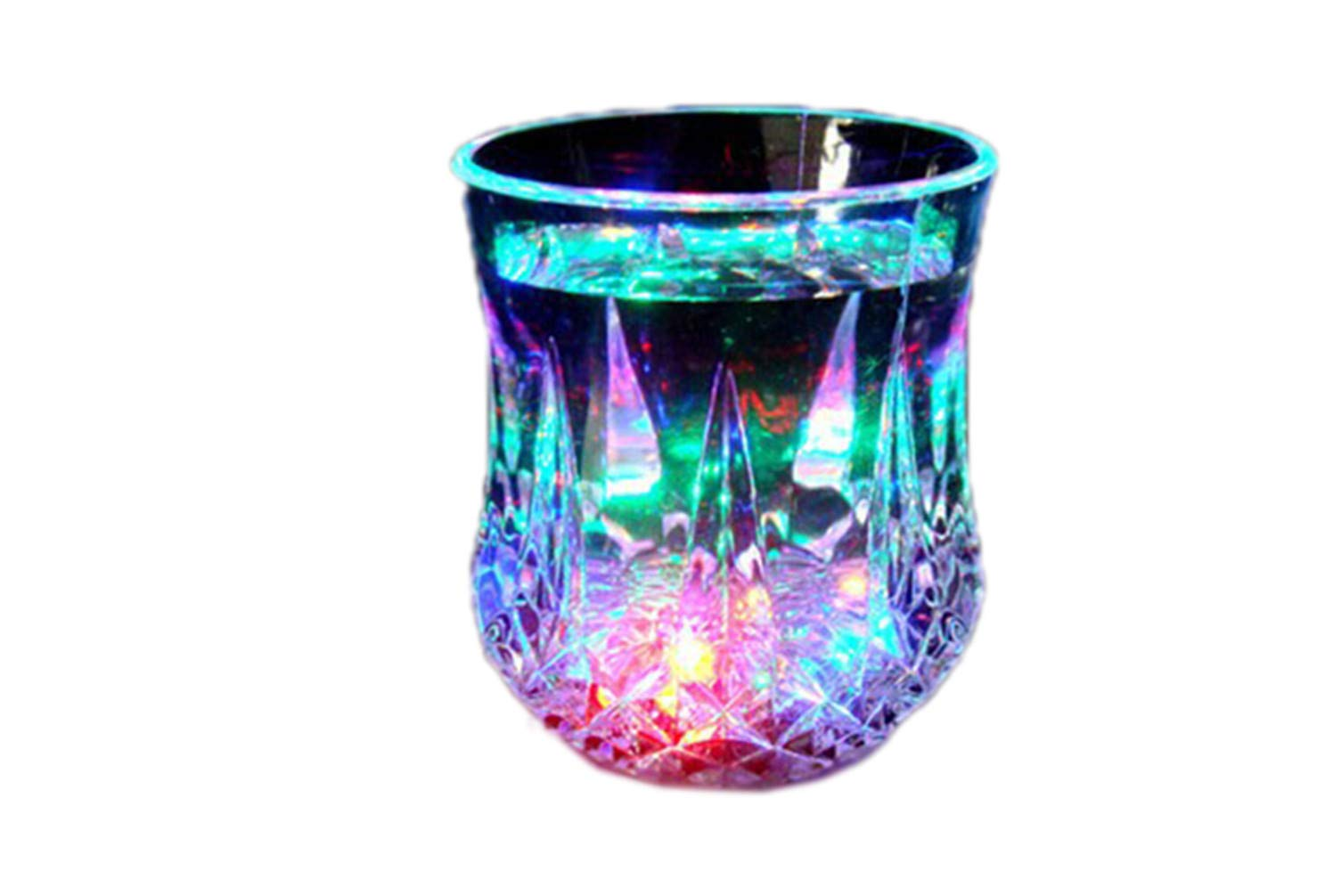 Pouring Water Glare LED Magic Colorful Pineapple Cup Student Gift Creative Party Wine Glass