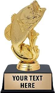 "CHUBB Fishing Trophy 4.75/"" FREE ENGRAVING Angling Personalised Engraved Award"
