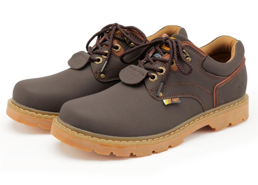 Damen Herren Werkzeuge Schüler Einzelne Schuhe Neue Freizeit Rutschfest Spitze Echtes Leder-Peeling Herbst Winter Arbeiten im Freien