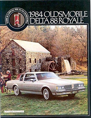 Oldsmobile Delta Royale (1984 Oldsmobile Delta 88 Royale Brochure Canada)