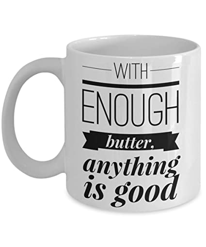 Amazon.com | Bakers Mug - Funny cooking quotes Coffee Mugs ...