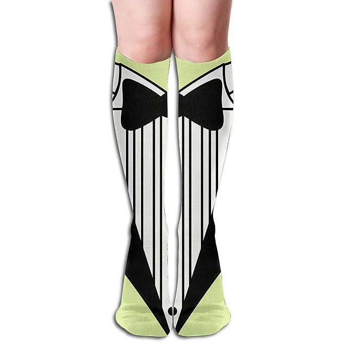 meet online store elegant shoes Amazon.com: Long Socks, Tuxedo Knee High Socks, Unisex Tube ...