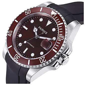 1f527ec667b7b Amazon.com: Mens Automatic Watches High End Watches Men's Dive ...