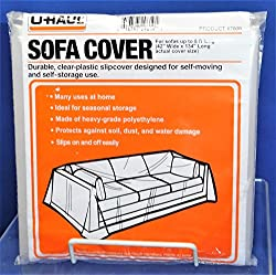 UHaul Sofa Couch Moving & Storage Cover Up to 8' Length Fit
