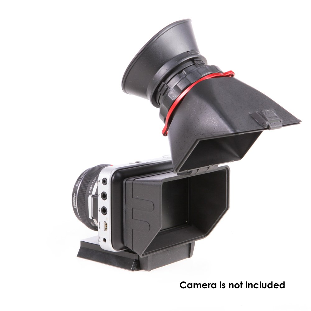 Authentic Kamerar QV-1 LCD Viewfinder View Finder for BMPCC (Black Magic Pocket Cinema Camera) by Kamerar