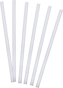 """Tervis Tumbler Reusable Straight Straws BPA Free-Dishwasher Safe-6 Pack, 10"""", Clear"""