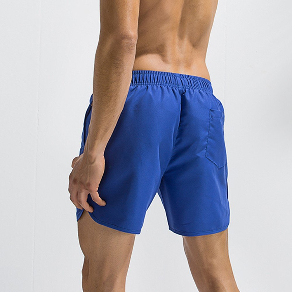 Bañadores de Natación Hombre, BBestseller Trajes de Baño Tie Costura de Hombres Pantalones de Playa de los Boxeadores 2018, Pantalones Troncos Elásticos ...