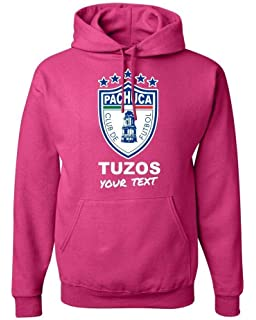 Pachuca Tuzos Mexico Hooded Hoodie Hoody Sudadera with Custom Free Text(Optional)