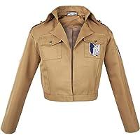 Chaqueta de uniforme del Cuerpo de Exploración de los fans de Ataque a los Titanes   Tallas: S-XXL