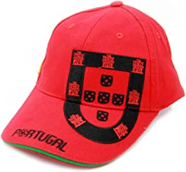 Baseball Cap With Embroidered Portuguese Shield - 3 Colors Available