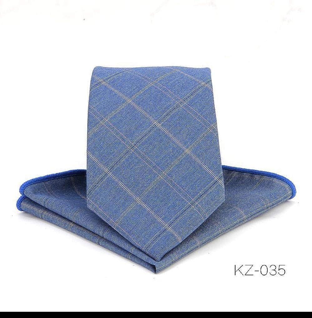 ACAMPTAR - Juego de bufandas de corbata para hombre (kz-035 ...