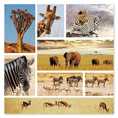 African Plains Jigsaw Puzzle (Melissa & Doug 1,000-Piece Safari Shapshots Jigsaw Puzzle (2 x 2 feet))
