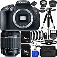 Canon EOS Rebel T5i DSLR Camera Bundle with 18-55mm f/3.5-5.6 IS STM Lens, Carrying Case and Accessory Kit (20 Items) Noticeable Review Image