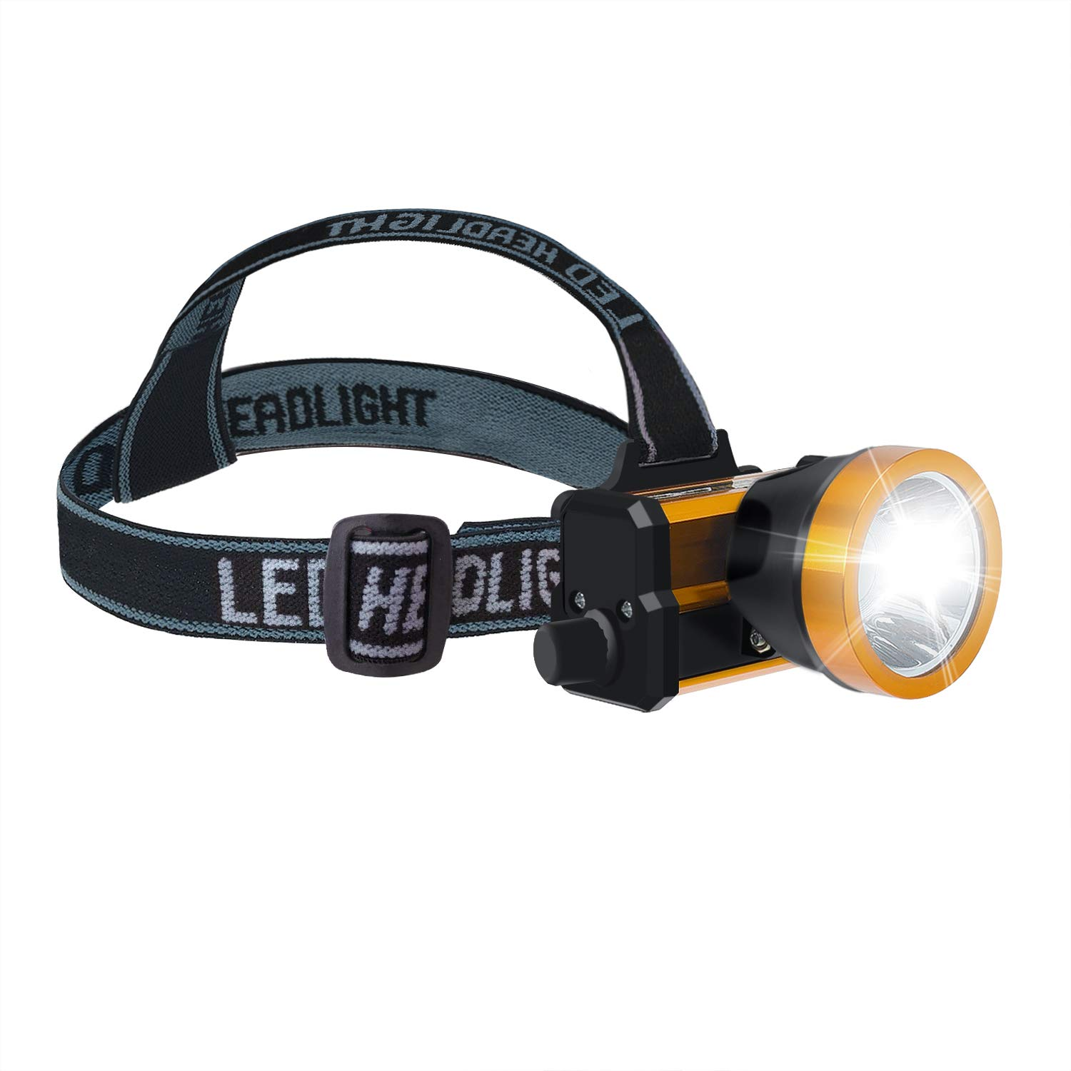 Haoer LED Rechargeable Headlight dimming Head Light Aluminum Alloy headlamp