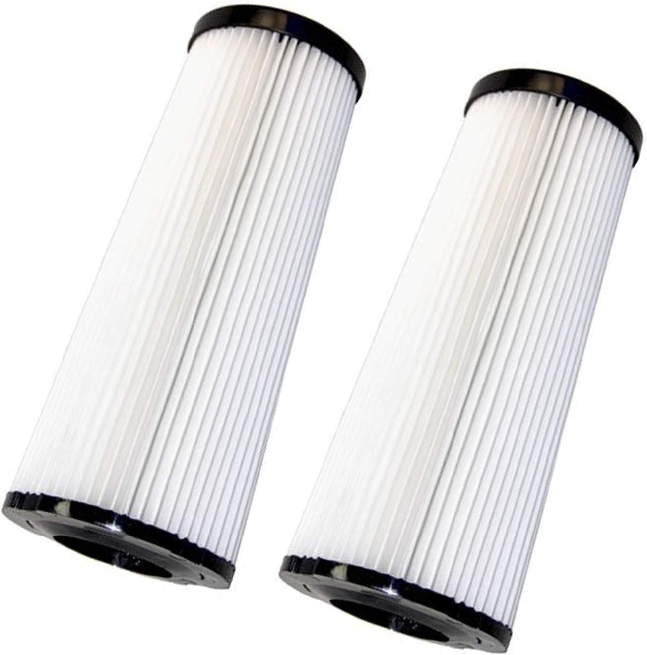HQRP 2-Pack Filter for Dirt Devil MHDU300 HDU300 Pf, MHDU200 HDU200 Regina, M091950A 091950A Outlast, MRY6100 RY6100 Commercial Bagless Upright Vac Vacuum Cleaner Coaster
