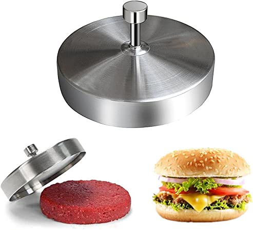 Plastica Bianco Gutyan Hamburgermaker con Dispositivo di Sollevamento Patty Hamburger Press Edelstah Hamburger Presse Compactor 13,1 Cm