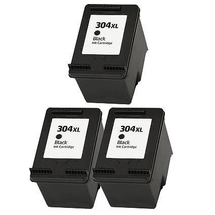 ouguan 3 x Negro Cartuchos de Tinta HP 304 304 x l ...