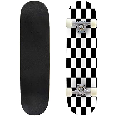 "Cockatiels Galore Outdoor Skateboard 31""x8"" Pro Complete Skate Board Cruiser 8 Layers Double Kick Concave Deck Maple Longboards for Youths Sports : Sports & Outdoors"