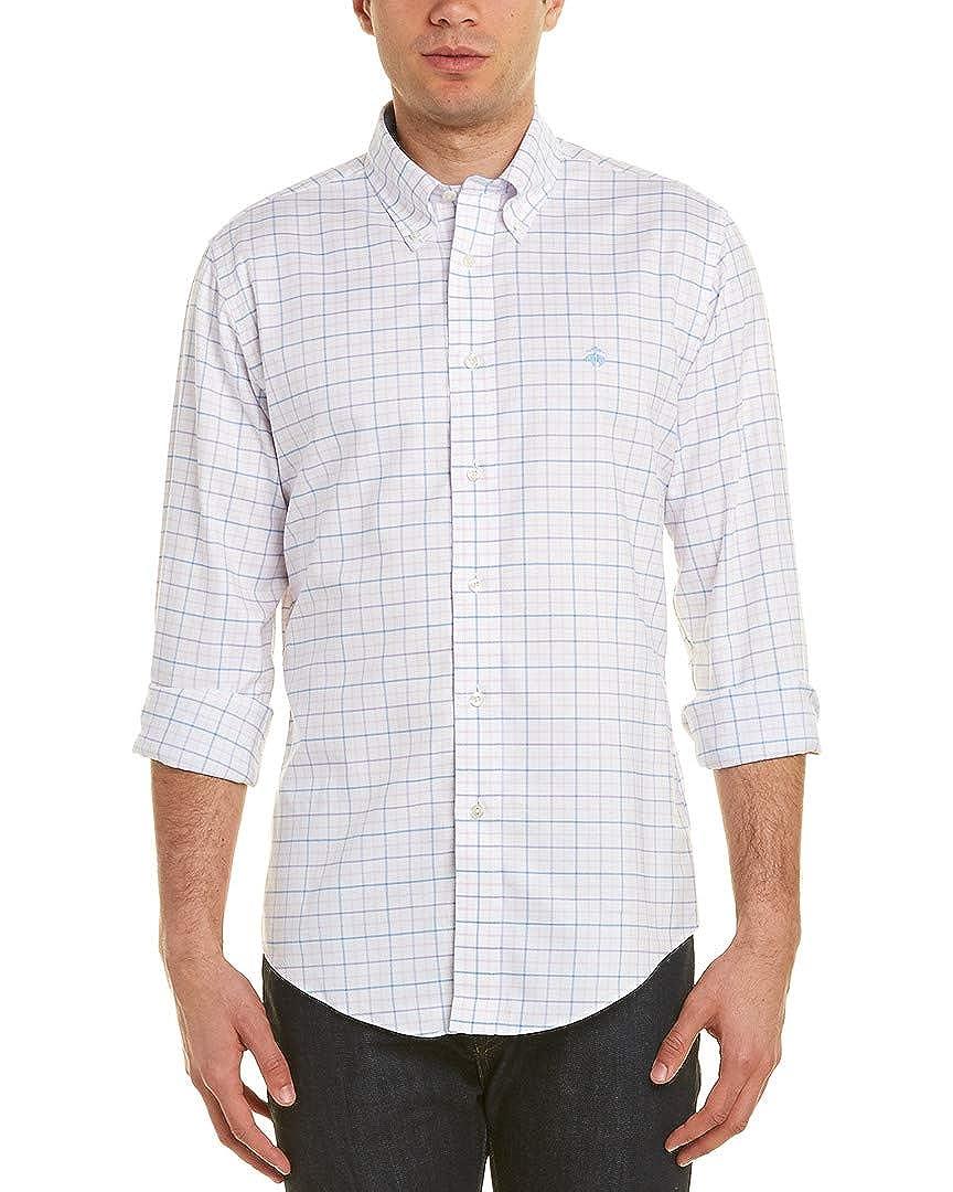 White M Brooks Brothers Mens 1818 Regent Fit The Original Polo Shirt