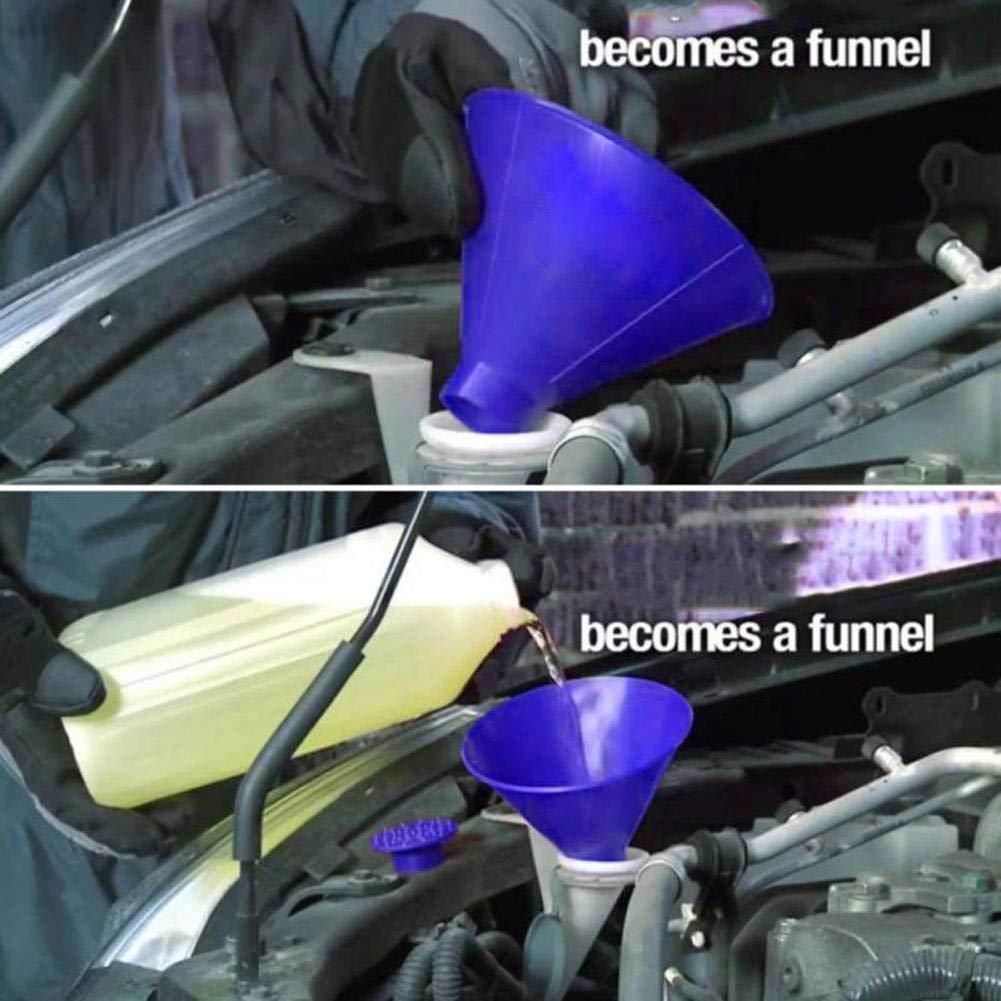 Glace grattoir en forme de c/ône ext/érieur ronde Pare-brise Entonnoir D/écapant neige dhiver Outil voiture pare-brise Entonnoir glace Scraper