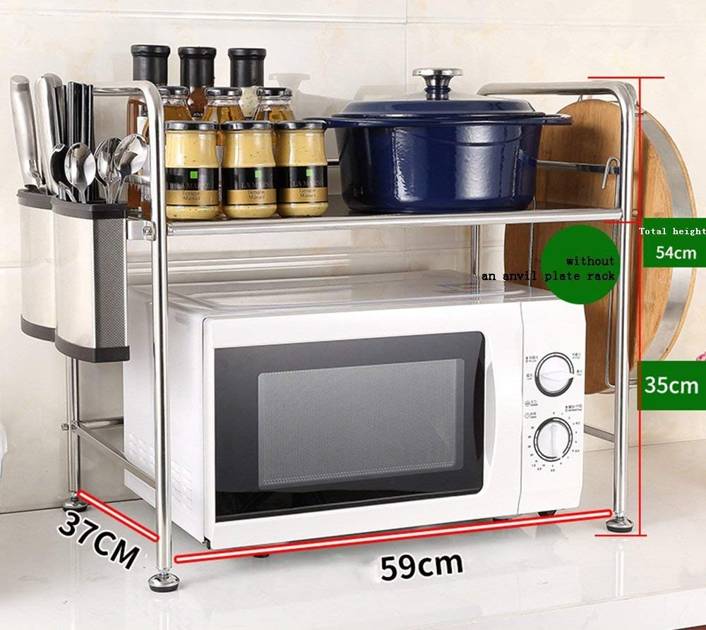 Chuan Han Acero Inoxidable Layer Kitchen Knife Rack Seasoning ...