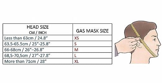 Mascara de gas Sovietico GP5 Talla pequeña S (Small): Amazon.es: Industria, empresas y ciencia