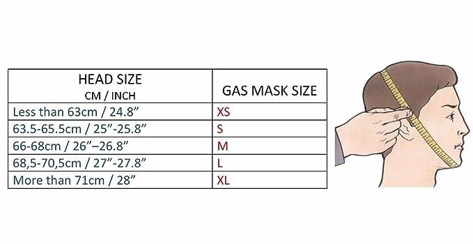 GP-5 - Mascara de gas, de goma ...sovietico, : Amazon.es: Ropa y accesorios