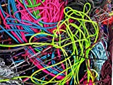 Paracord Planet Grab Bag of Nylon 550lb Type III 7 Strand Paracord Approximately 180 Feet Various Colors