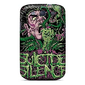 High Impact Dirt/shock Proof Case Cover For Galaxy S3 (suicide Silence)