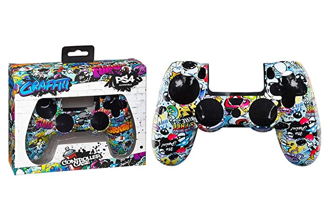 Indeca - Carcasa Mando Graffiti (PS4): playstation 4: Amazon ...