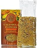 Cheap Wild Harvested Siberian Calendula Flowers, Premium Quality, 2.65 OZ (75 Grams) – Herbal Tea (Calendula Officinalis)