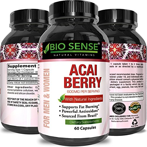 Cheap Acai Berry Antioxidant Support Weight Loss Supplement for Women and Men – Vitamins + Minerals + Antioxidant Formula Supports Immune System and Boost Energy + Cognitive Health