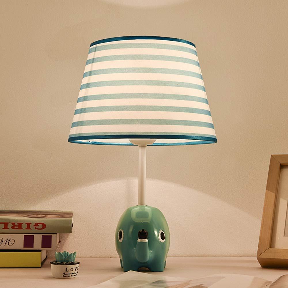 B Baby-Elefantkarikatur Tischlampe, Nachttisch-Leuchte Kinderzimmer Schlafzimmer Nachttisch-Leuchte Led Kreative Niedlich Warm