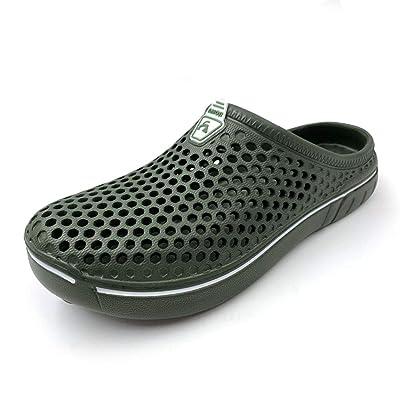 Amoji Unisex Garden Clogs Shoes Sandals Slippers | Mules & Clogs