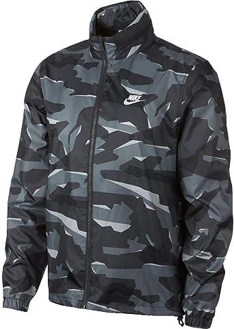 Nike Giacca a Vento da Uomo, Motivo Mimetico, Uomo, AV8417
