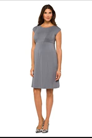 3c2a690dbc083 Liz Lange Gray Maternity Above Knee Dress at Amazon Women's Clothing ...