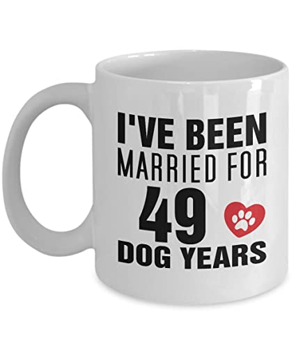 amazon com 7rd wedding anniversary gifts for dog lover her him 7