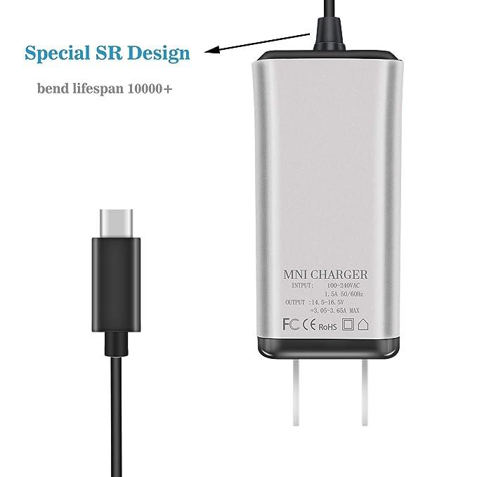 Amazon.com: YGJ - Cargador adaptador de corriente USB-C de ...