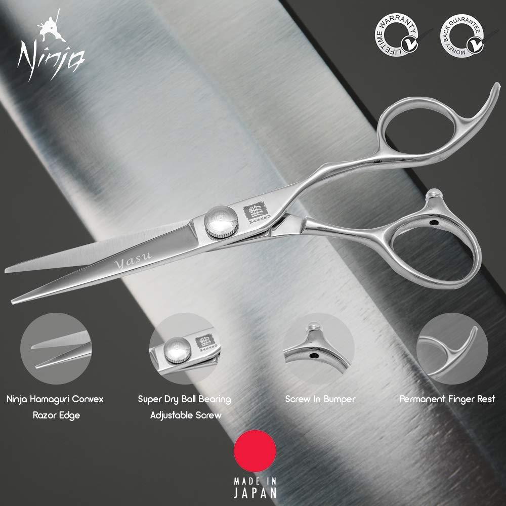 Ninja Masaru Yasu - Tijeras de peluquería: Amazon.es: Belleza