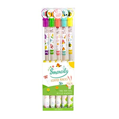 Scentco Spring Smencils - HB #2 Scented Pencils, 5 Count: Toys & Games