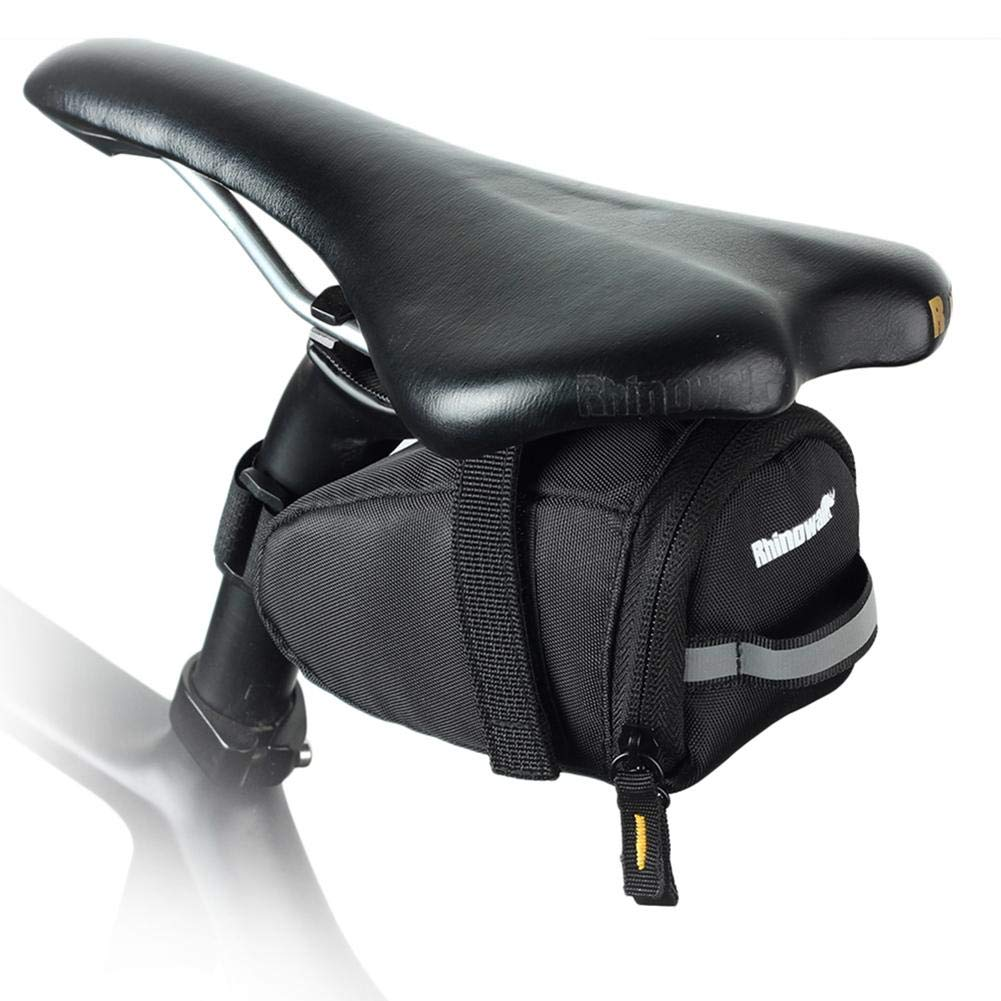 Mountain Cycling Bicycle Under Seat Storage Tail Pouch Bike Saddle Pouch Bag UK
