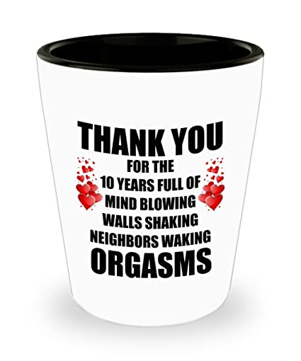 10 Year Anniversary Gifts For Him Her - 10th Year Funny Sexy Prank Gag Gifts For  sc 1 st  Amazon.com & Amazon.com | 10 Year Anniversary Gifts For Him Her - 10th Year Funny ...