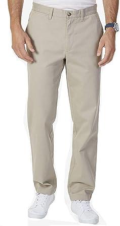 Nautica Pantalones Elasticos De Sarga Suave Para Hombre Ajuste Clasico Amazon Es Ropa Y Accesorios