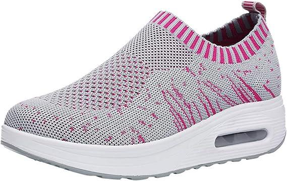 Zapatos Gym Running Verano Primavera otoño,ZARLLE Mujeres de Moda ...