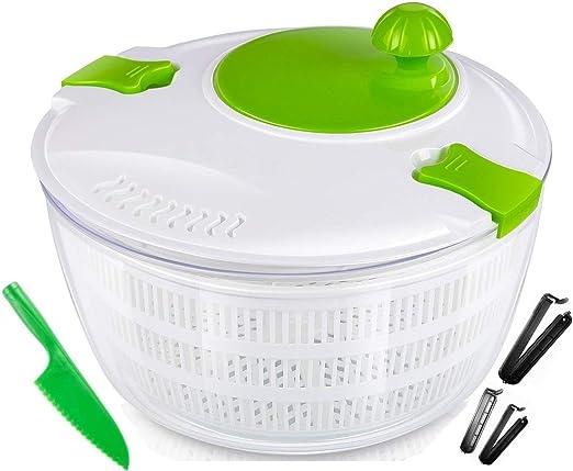 Olivia de ensalada spinner set – incluye centrifugador de ensalada ...