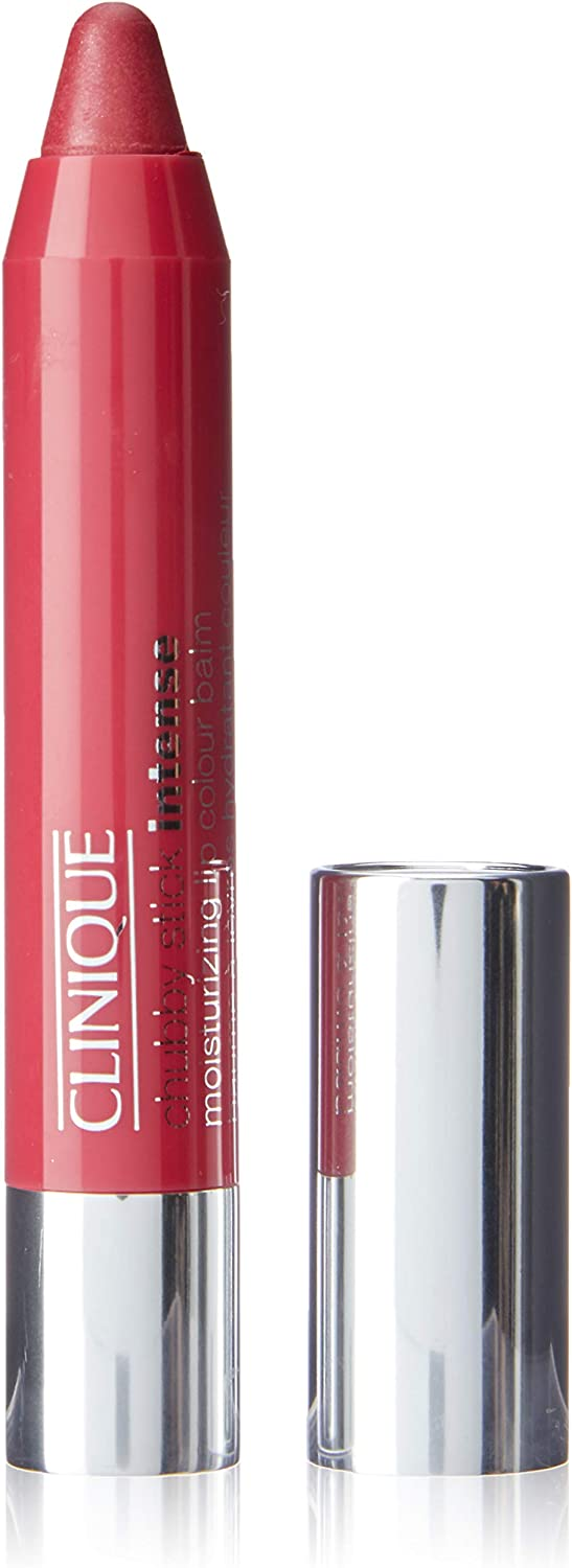 Clinique Women's Chubby Stick Intense Moisturizing Lip Color Balm, 06 Roomiest Rose, 0.10 Ounce
