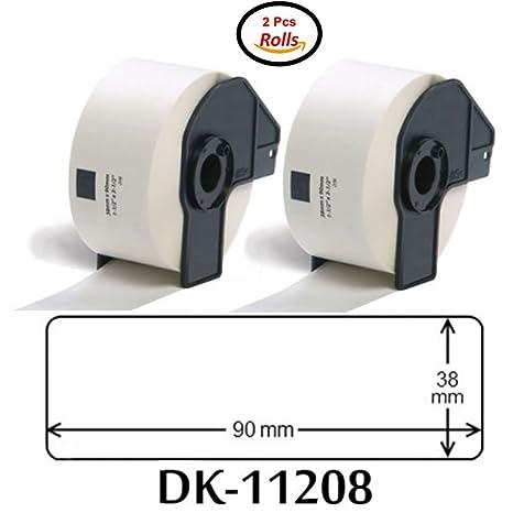 eTrader Direct - Etiqueta para Direcciones Blanca Estándar de 38 x ...